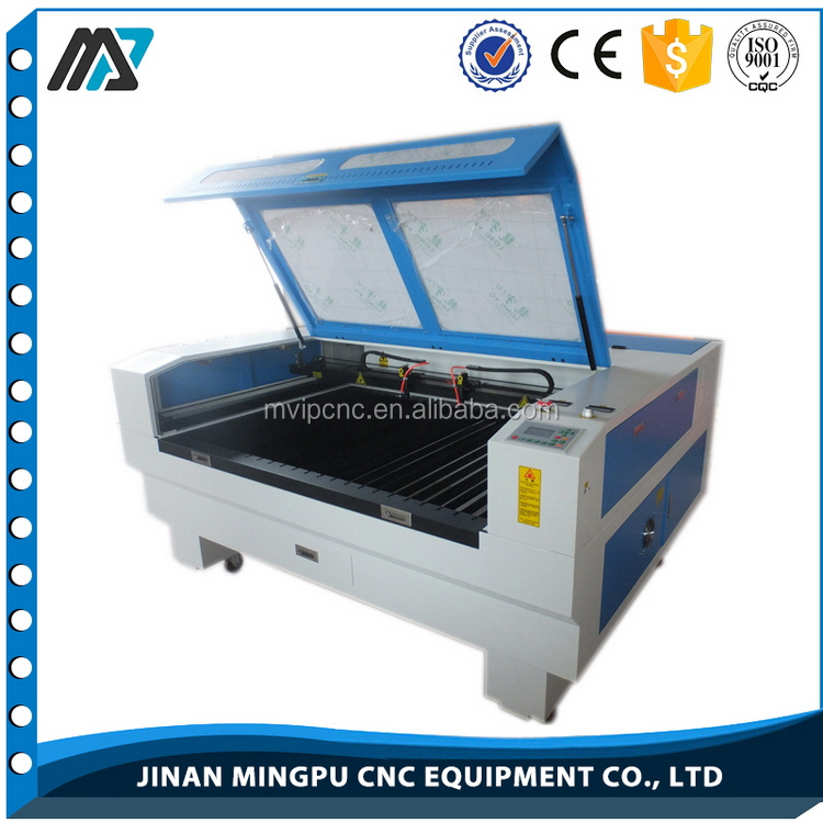 New latest two heads laser cutting machine co2
