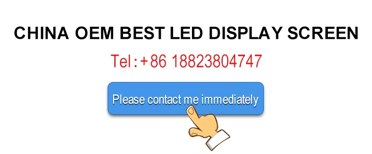 led display screen 3D videos video outdoor full color hd p4 led display