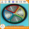 4*240mm 0.6/1kV PVC Insulated Electric Cable VLV