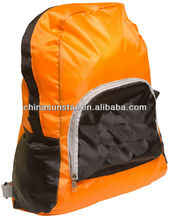 Waterproof and hign class fold up school bag