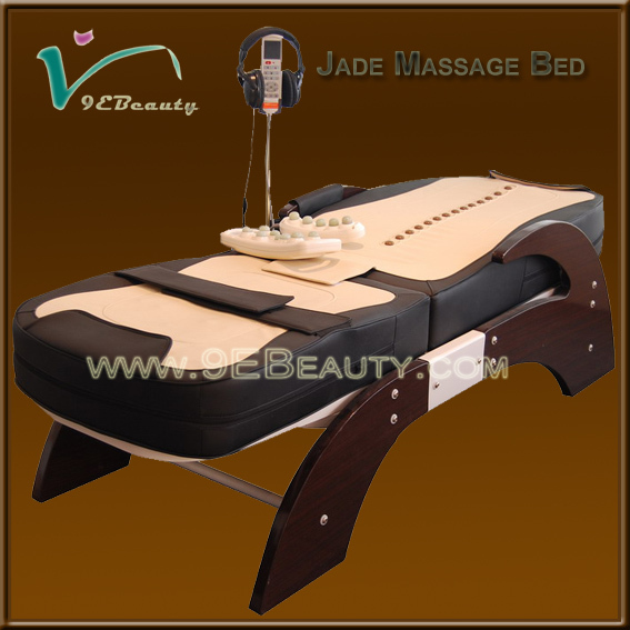 Automatic infrared massage tables