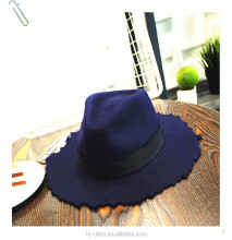 Fashion ladies Wide Brim Fedora Wool Felt Hat