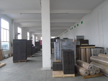 Warehouse for Rubber tiles