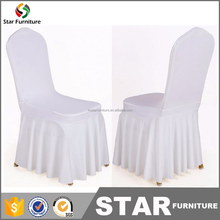 Cheap white spandex chair cover / white wedding chair cover for sale / used wedding chair covers