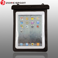 Hot sale cheap for waterproof for ipad case,Factory plastic pvc waterproof bag for tablet pc touch clear transparent window