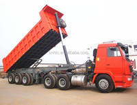 3 axles 100 tons side dump semi trailer/side tipper trailer for sale