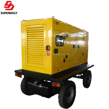 Hot! 2018 CE approved with factory price 30kw mobile trailer mounted diesel generator