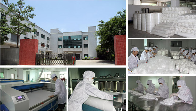 Refurbishing Tools Environmental cleanroom cleaning wiper non-woven wipers