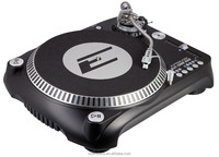 EPSILON DJT-1300 USB Turntable with Dual Play / Stop buttons for battle use and Easy plug and play with any DJ Software for PC