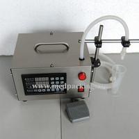 Small Digital Control Pump Water Liquid Filling Machine