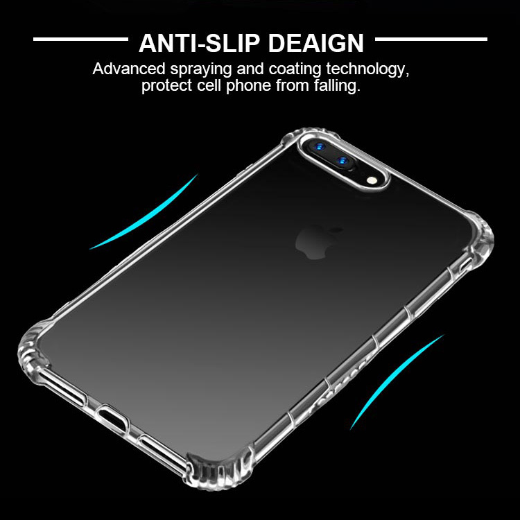 Luxury shockproof soft tpu mobile phone back cover case for apple iphone 7 7 plus, for iphone 7 case shockproof