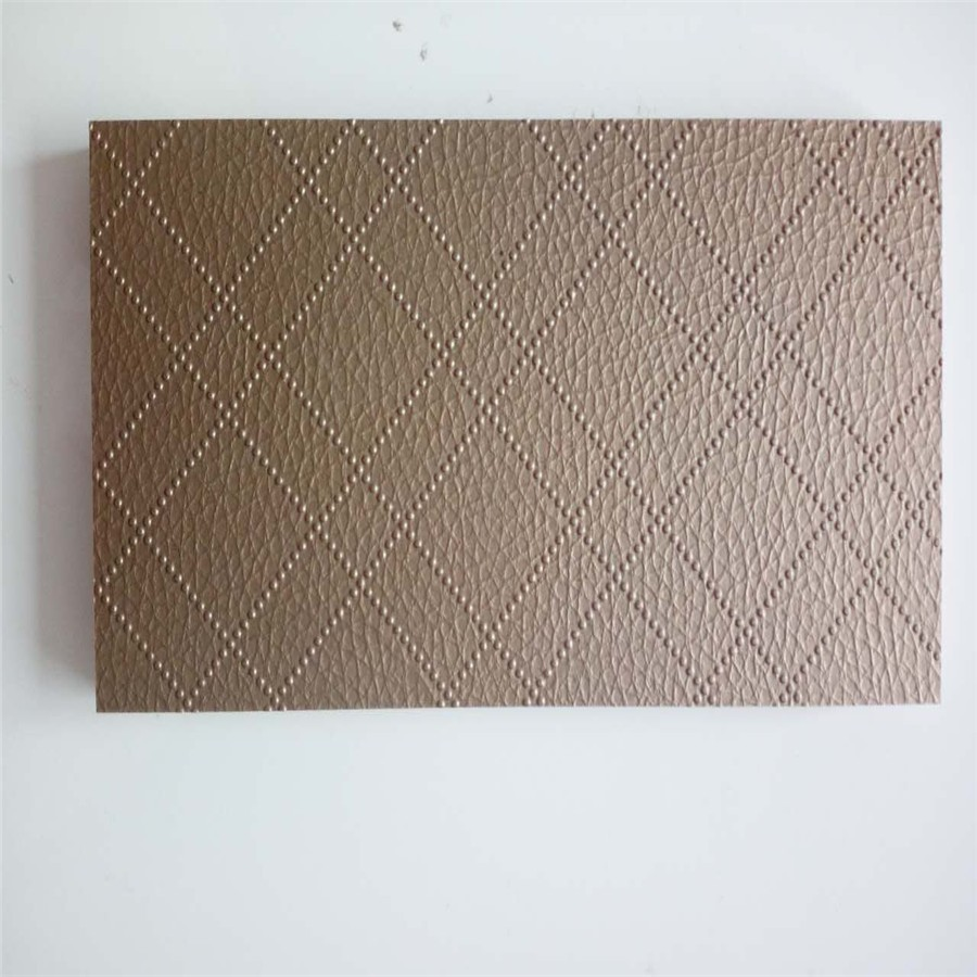 High quality wood furniture PVC Plywood Sheet/PVC Laminated Plywood