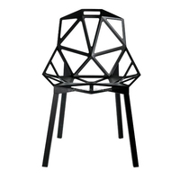 wholesale black high quality plastic chair price for sale HYL-067