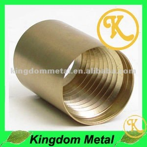 CNC brass threaded sleeve