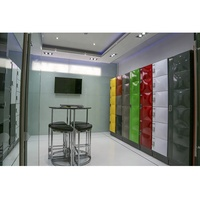 New design fashion steel key office locker cabinets for Staff dormitory