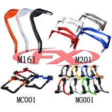 "Newest hot selling 22mm 28mm bicycle hand guards 7/8"" 1/8"" scooter hand guard motor aluminum lever handguard"