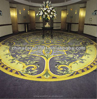 Custom Design Handmade Home Carpet with 100% New Zealand Wool