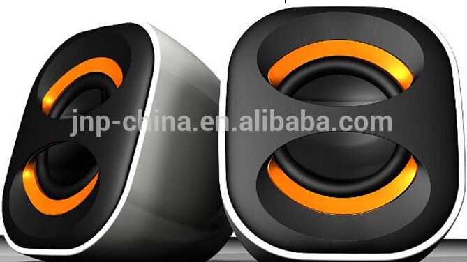 For Computer Novelty 2.0 Speakers at Cheap Price in Black Color