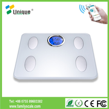 chinese usb mini touch screen hardness platform electronic postal digital waterproof weighting glass body fat scale