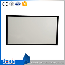 "110""16:9 Jiangsu PVC Or 3D Fixed Frame Projector Screen"
