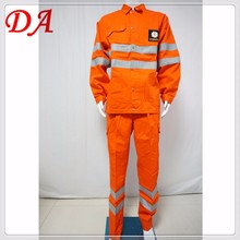 static resistant gas station workwear uniform for men