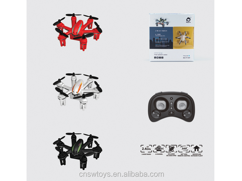 YK0809241 Wholesales Plastic toy 2.4G remote control six-axis aircraft with usb