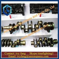 Crankshaft ME999368 for MITSUBISHI Engine 6D22