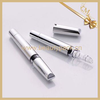 up-market silver lip gloss twist pen