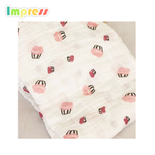Hot sales baby muslin wraps comfortable cotton muslin baby swaddle blankets