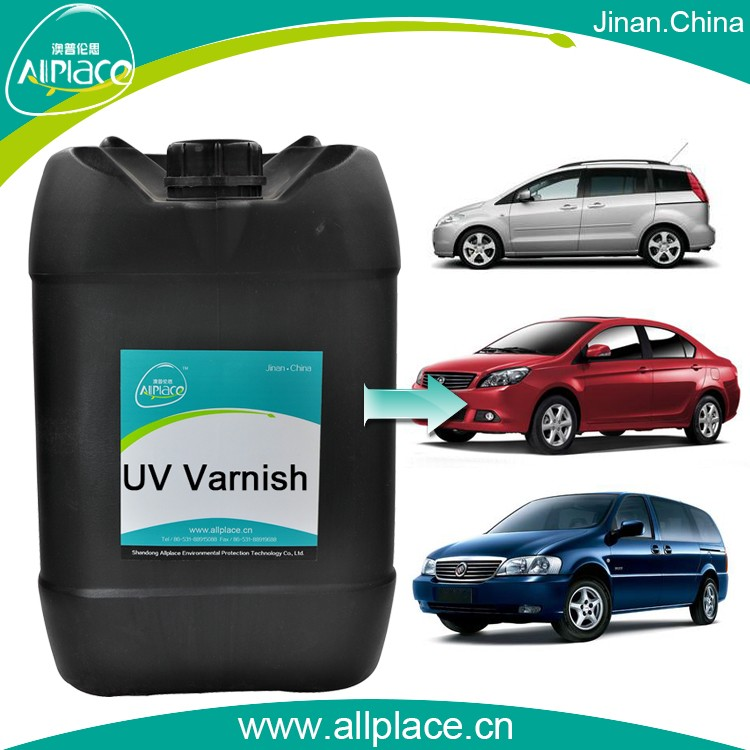 Transparent excellent adhesive factory price car UV finishing liquid