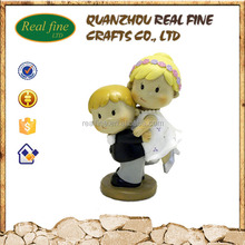 Bride & groom cake topper figurines for wedding decoration gifts