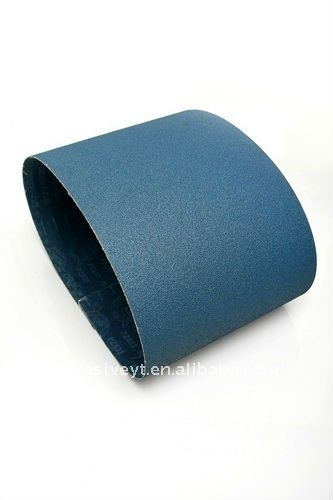 electrostatic adhesion endless abrasive belt for stainless steel use
