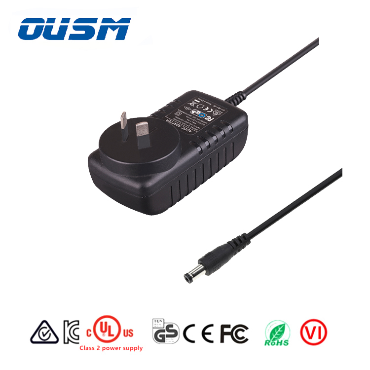 Customized made cUL KC listed 5.9v 9v 12v 15v 24v 0.5a 1a 1.6a Dc Power Supply for Lcd lg tv led driver