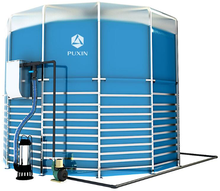 PUXIN Assembly Portable Biogas Digester for Sewage Treatment