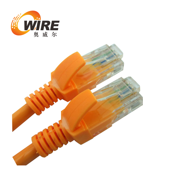 factory customized length rj45 8p8c amp cat6 utp/ftp/stp Patch Cord electrical cord strain relief