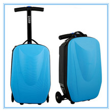 2015 factory matured product multi--function scooter travel luggage bags