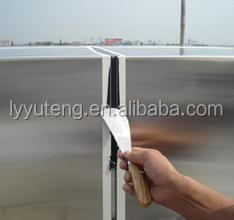 China aluminum cladding panel installation for project system