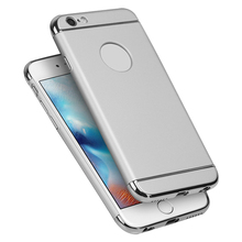 For iPhone 6p Luxury 3 In 1 Combo Hard PC hybrid Ultra Thin Protective Case for mobile phone