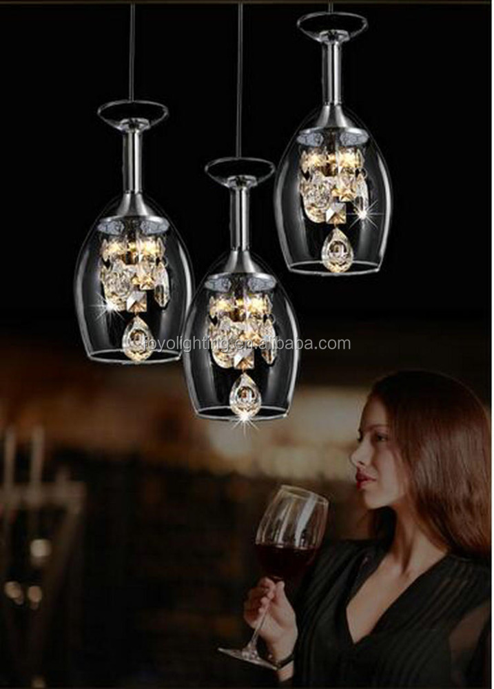 2016 Luxury Glass LED Pendant Lamp for Indoor Light Hanging Lamps CE Driver