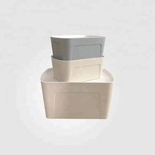 Eco-friendly Keyway Plastic Storage Box Plastic Box