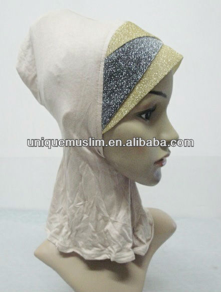 C045 new style crossover ninja inner underscarf,full underscarf to cover neck