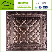 2016 new design Soft package 3d leather carved wall panel for house tv background