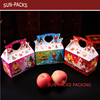 OEM Printed Christmas Apple Fruit Packaging