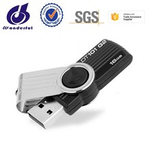 fashion swivel usb flash drive 4GB 8GB as the best gift item with H2 test