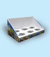 Cardboard POS Counter Top Display Boxes