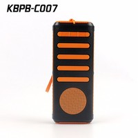 Shenzhen RoHS certification bluetooth rechargeable speaker manufacturer, outdoor bluetooth speaker power bank