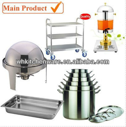 Cooker, Chafer, Counter and more names of kitchen equipments
