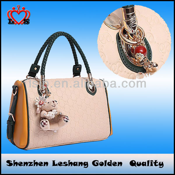 2014 fashion leather office bags for women