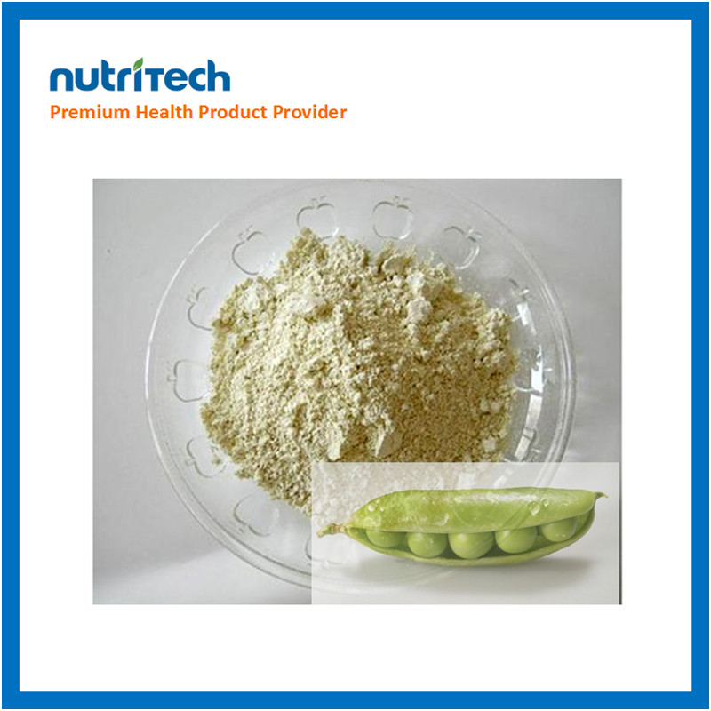 Organic high quality pea protein for nutrition supplement