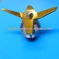 Kitchen aided blender spare parts, blender blade assembly, Food blender assembly